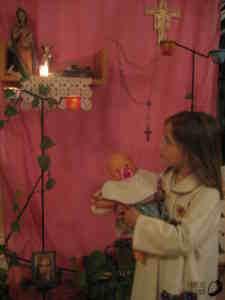 canto de oração - Lúcia