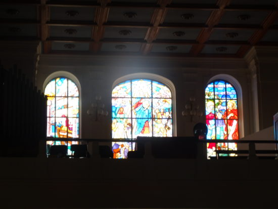 Vitrais do Santuário Nossa Senhora Auxiliadora, Mogofores
