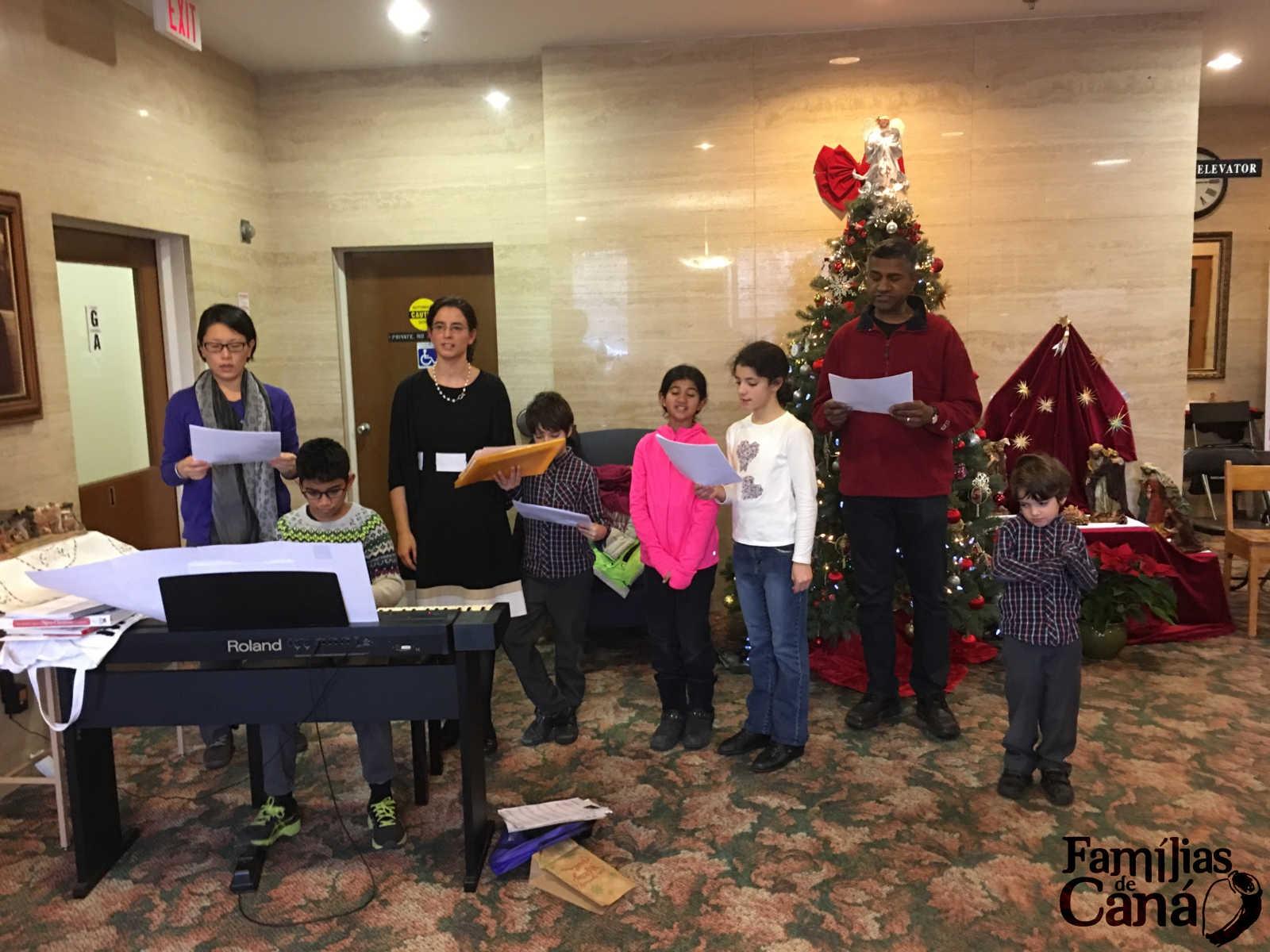 A Véspera de Natal com os Séniores