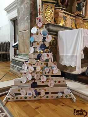 Árvore de Jessé feita na catequese